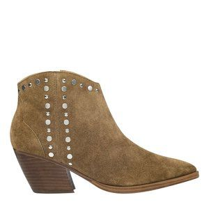 Marc Fisher Deni Western Studded Bootie NWT 8.5